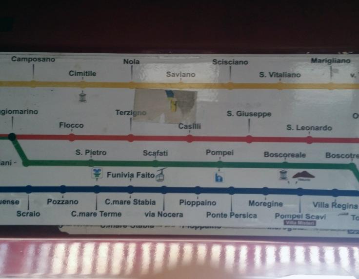 10A-Pompei (2-tram)